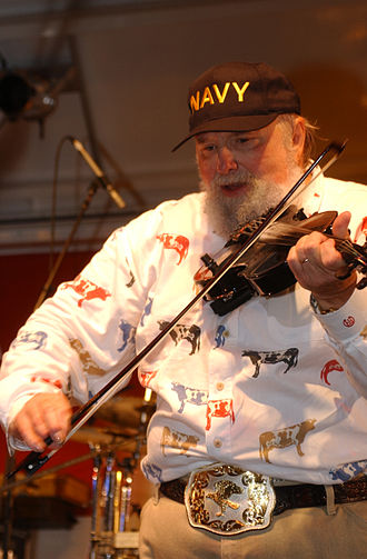 Charlie Daniels - Daniels performing at U.S. Naval Station Great Lakes, September 11, 2003