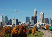 Charlotte's growing skyline