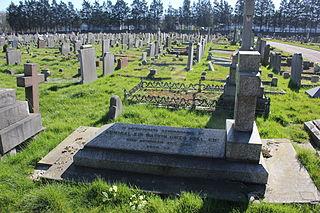 Charlton cemetery Cemetery in Charlton, England