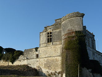 Yolande of Brittany - Chateau de Bouteville, Charente, where Yolande died in 1272
