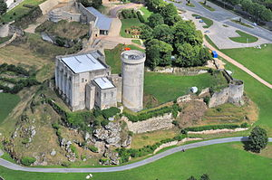 Château de Falaise - Château de Falaise from the air