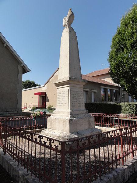 Chattancourt (Meuse) monument aux morts