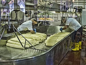 Bandon, Oregon - Cheesemaking at the Face Rock Creamery, Bandon