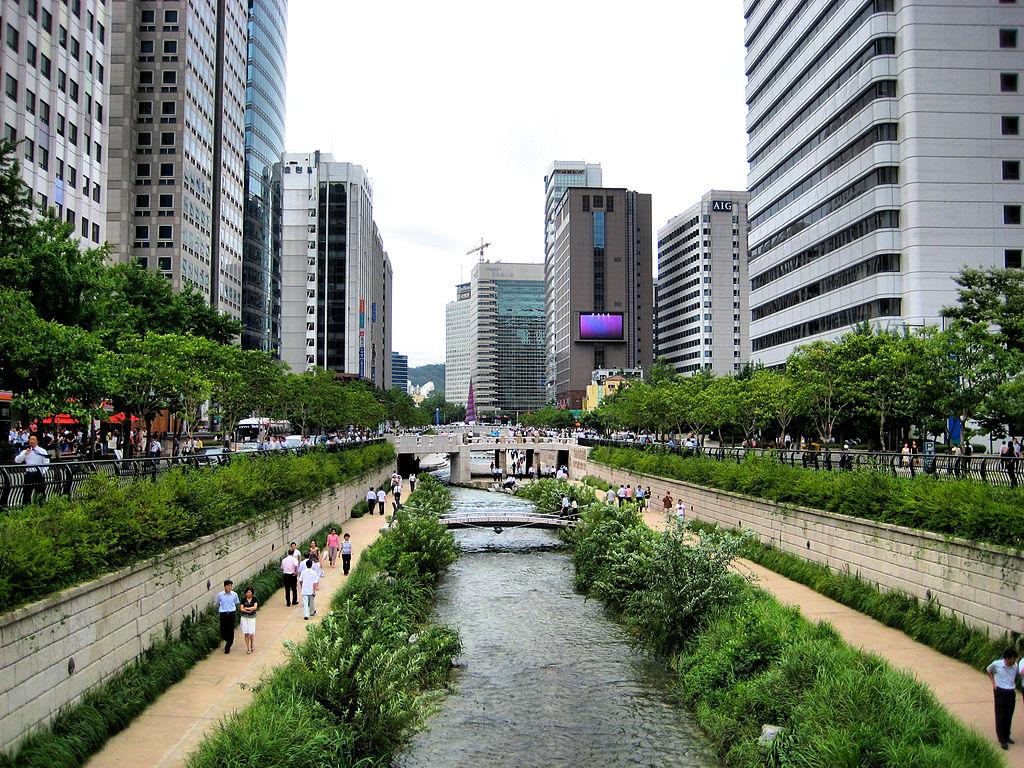 Cheonggyecheon, Seoul
