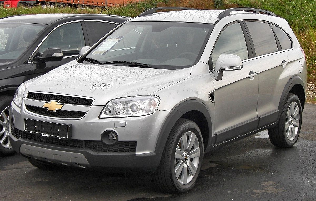 Chevrolet Captiva Wikipedia Bahasa Indonesia