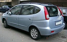 Chevrolet Rezzo rear 20071109.jpg