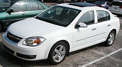 Chevrolet Cobalt LTZ sedán