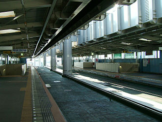 Tsuga Station - Chiba Urban Monorail Tsuga Station