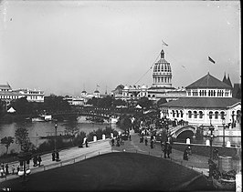 Chicago tijdens de World's Columbian Exposition