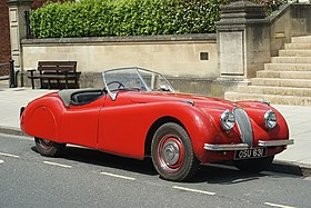 Perfect Jaguar XK120