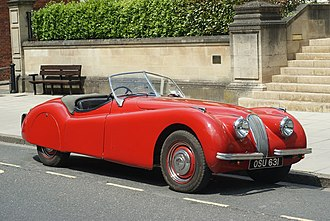 Jaguar XK120 - Jaguar XK120 open 2-seater