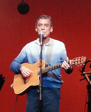 Chico Buarque - Chico Buarque performs in 2007.