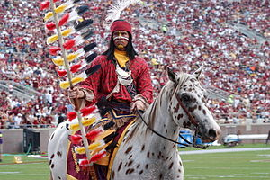 Osceola and Renegade - Chief Osceola and Renegade in 2008