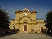 La Chiesa di San Biagio nella frazione di San Simone