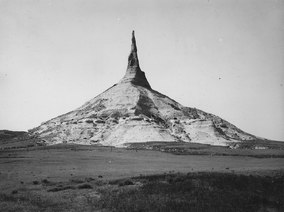 Chimney Rock, Nebraska - NARA - 294354.tif