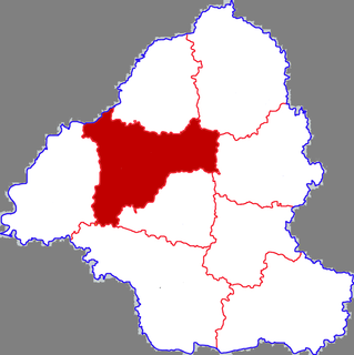Mudan District District in Shandong, Peoples Republic of China