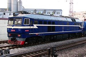 China Railways DF8 - The first generation of DF8 family