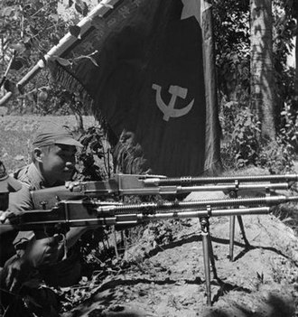 Chinese Red Army - Chinese Red Army's machine guns in 1936