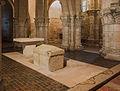 Choir, Altar, Sarcophagus Saint-Eutropius Basilica Saintes Charente-Maritime.jpg