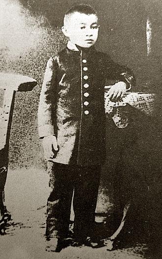 Shoqan Walikhanov - Shoqan in 1847, upon enrolling in the Omsk Military Academy