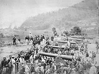 Shimonoseki campaign series of military engagements in 1863–64 between Japan and China