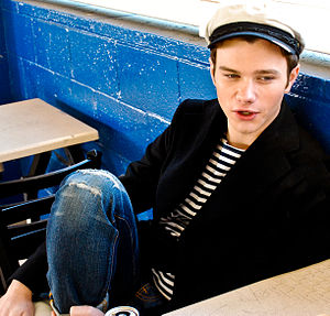 Kurt Hummel - Image: Chris Colfer 2011 Venice High School