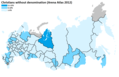 Christians without denomination in Russia (Arena Atlas 2012).png