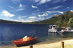 Chubut Province - The town of Esquel.