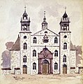 Church facade with two towers, 1885-1889.jpg