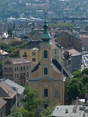Menetrendek Krisztinavárosi Havas Boldogasszony Plébánia tömegközlekedéssel