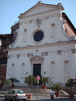 Santo Spirito in Sassia - Image: Church of Santo Spirito in Sassia in Rome