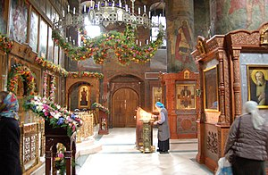 Sretensky Monastery (Moscow) - Inside the old katholikon