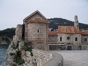 Budva - Churches in Old Town
