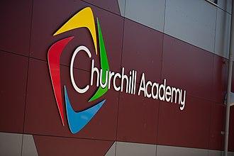 Churchill Academy and Sixth Form - Image: Churchill Academy & Sixth Form