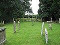 Churchyard, Ashford Bowdler - geograph.org.uk - 1450228.jpg