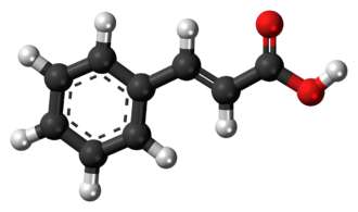 Cinnamic acid - Image: Cinnamic acid 3D ball