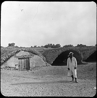 Cisterns of La Malga - Old photograph of a repurposed cistern