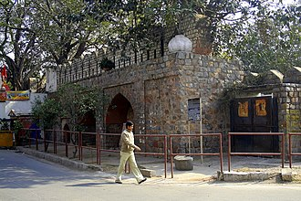 Daryaganj - Portion of city wall of the walled city of Shahjahanabad, Ansari Road, Daryaganj
