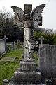 City of London Cemetery Susan Wilson 1940 grave angel monument 1.jpg