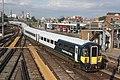 Clapham Junction - SWR 442420+442406 empty stock to Waterloo.JPG