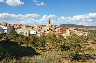 Clarés de Ribota Place in Aragon, Spain
