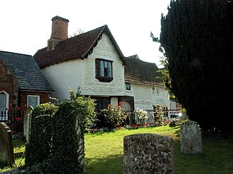 Clare, Suffolk - Ancient House, in Church Street