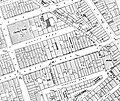 Claridge's Hotel, Brook's Mews, Alexandra Club 1910 map.jpg