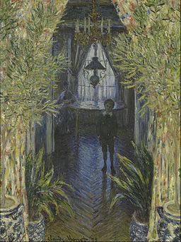 Claude Monet - A Corner of the Apartment - Google Art Project