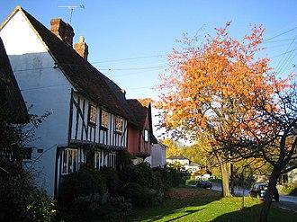 Clavering hundred - Middle Street, Clavering, Essex