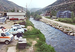 Clear Creek (Colorado) - Clear Creek at Georgetown in 2003