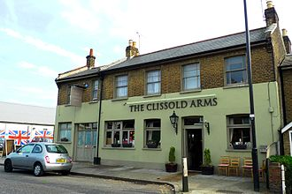 The Kinks - The Kinks farewell party was at the Clissold Arms, where they had first performed in 1960.