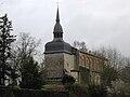 Clocher & nef - vu de la rue de la fontaine - église de Saint-Paul-lès-Dax.jpg