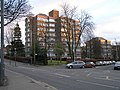 Co-ownership housing estate, corner of Langside Avenue and Tantallon Road - geograph.org.uk - 287480.jpg