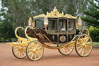 Diamond Jubilee State Coach - The Diamond Jubilee State Coach